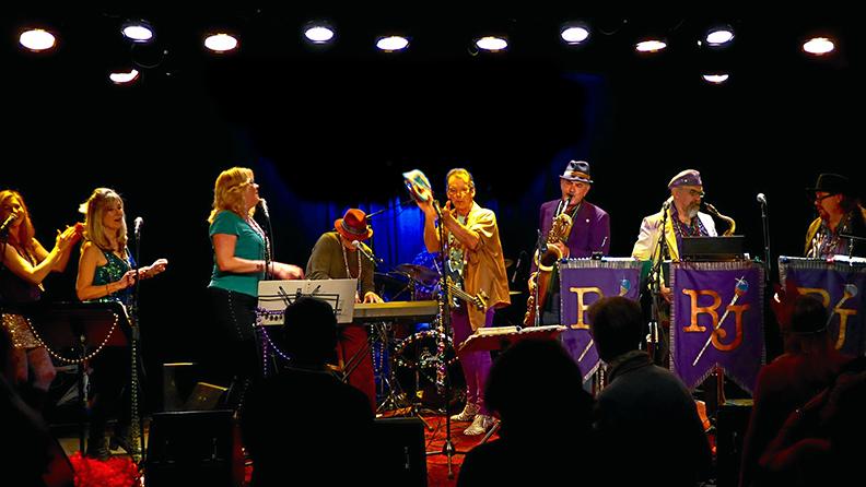"Mardi Gras Mambofest Rhythmtown-Jive ""K-Girls"" Palms Playhouse"
