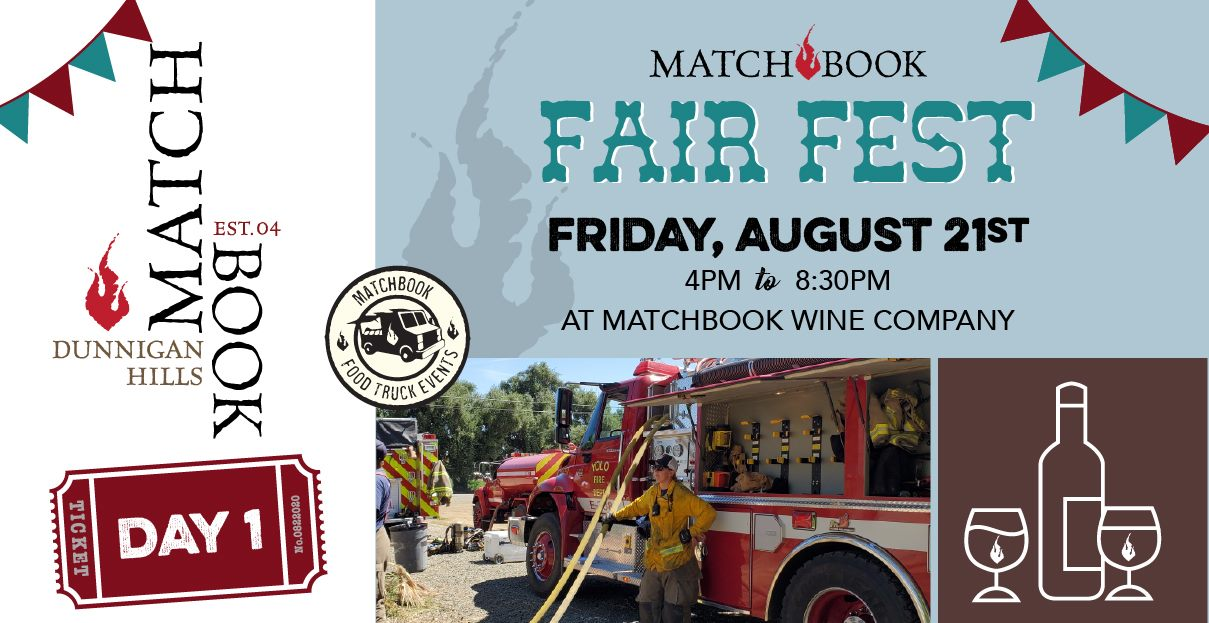 Matchbook Fair Fest with Yolo Fire Department