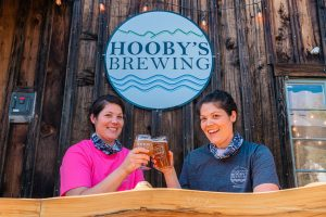 Hooby's Brewing in Downtown Winters