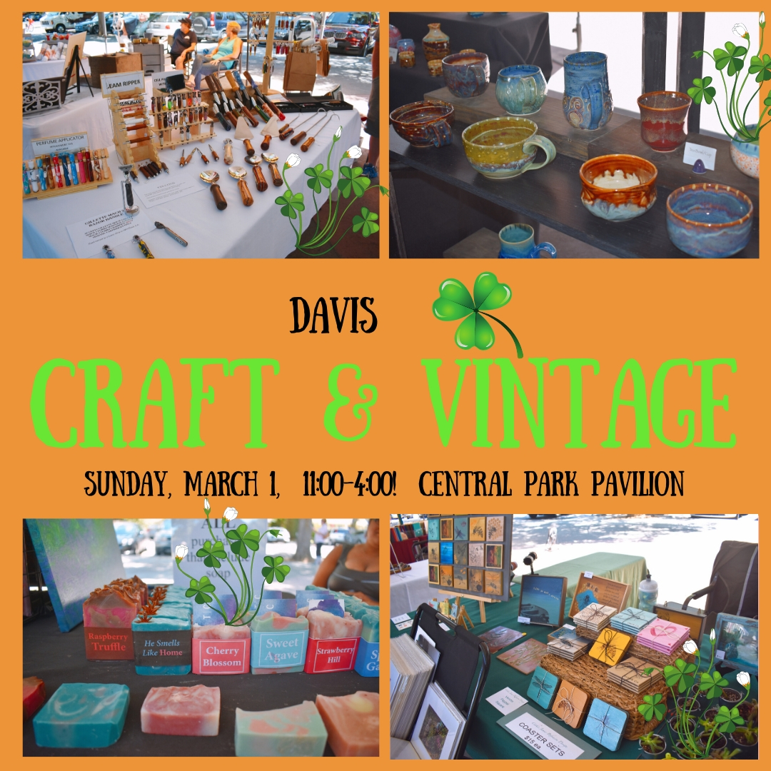 Davis Craft & Vintage Fair – Square Tomatoes
