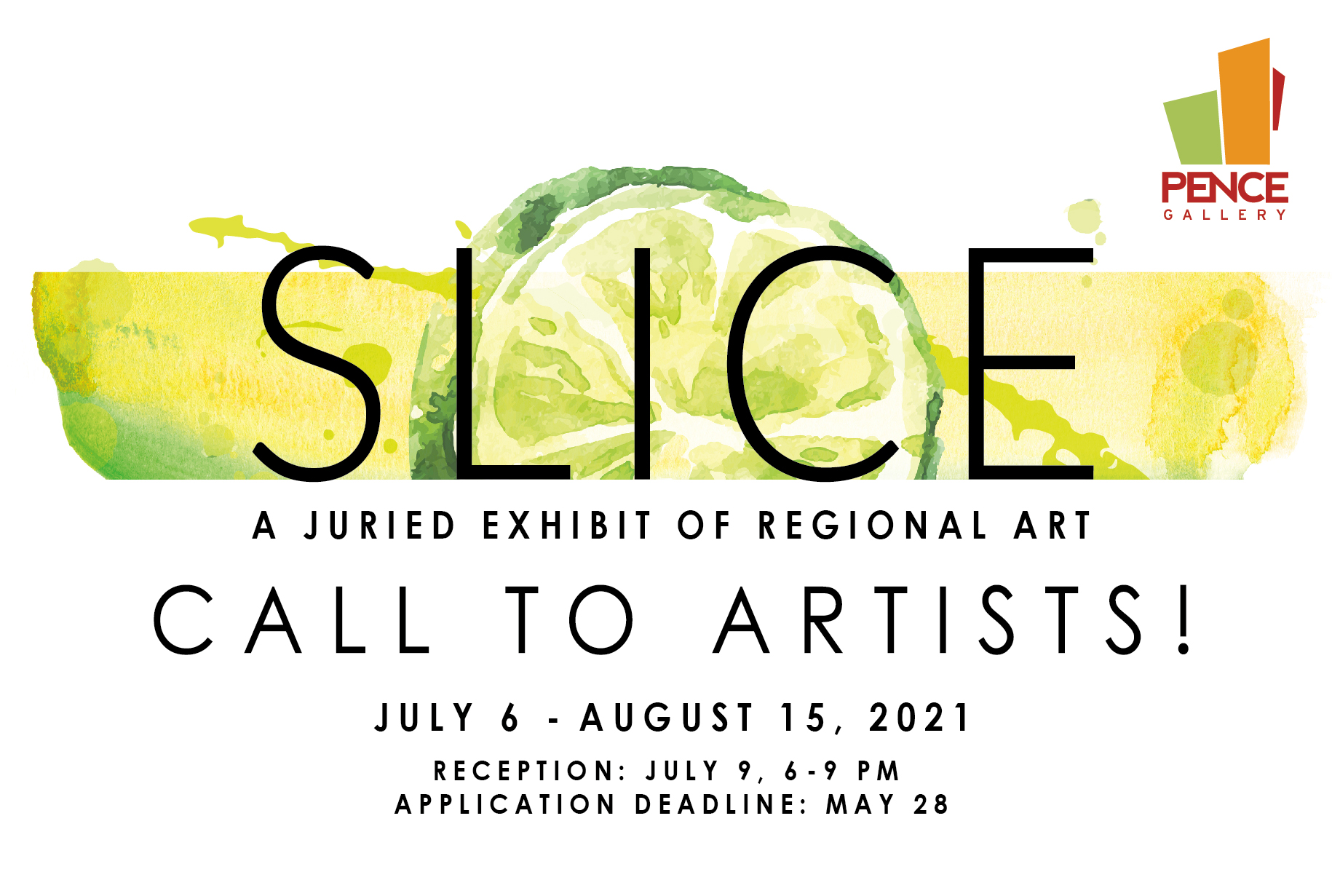 Call to Artists – Slice: A Juried Exhibit of Regional Art